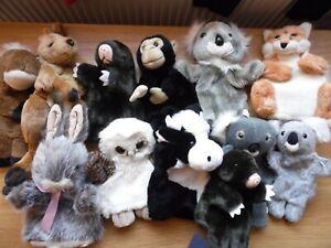 Hand puppets huge bundle