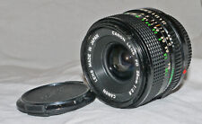 Canon FD 28mm f2.8 Wide Angle Manual Focus Lens