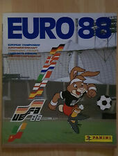 Panini Album empty leer leeg new UEFA EURO 1988 Germany RARE FREE INTERNATIONAL