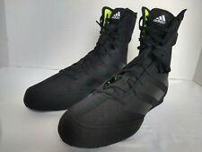 F99921 Men's Adidas Box Hog 3 Boxing Shoes Size 8 Colorway Core Black
