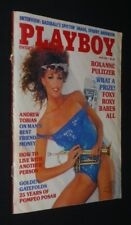 Playboy, Vol. 32, No. 6 - June 1985 : Roxanne Pulitzer - Andrew Tobias - How to
