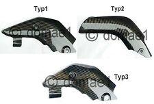 Honda CBR600RR carbon Hitzeschutz PC37 PC40 Auspuffblende Auspuff Verkleidung