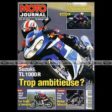 MOTO JOURNAL 1314 SUZUKI TL 1000 R HONDA VTR 250 MUZ 660 MASTIFF LACONI 1998