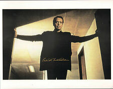 PATRICK McGOOHAN THE PRISONER SIGNED & CERTIFIED PHOTO POSTER WITH COA AUTOGRAPH