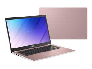 """ASUS Vivobook E410 14"""" Laptop Celeron N4020 4GB 64GB Rose Gold E410MA-BV004TS"""