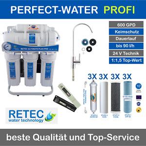 Osmoseanlage Ultimate PLUS Pro 600 GPD direct flow Umkehr Osmose Wasserfilter