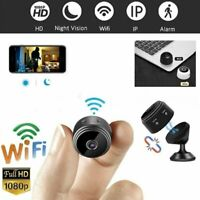 Mini Hidden Spy Camera Wifi IP Home Security HD 1080P DVR Night Vision Magnetic