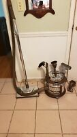 Vintage Filter Queen Canister Vacuum Cleaner With Attachments (Serviced)