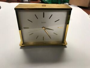 COCA-COLA Alfrty Swiss Desktop Clock - EMPLOYEE SERVICE GIFT
