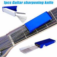 Guitar Bass Ukulele Part Nut Bridge Saddle Grooves Sanding Files Tool Kit