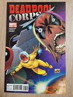 Deadpool Corps #7 VF 2010 Marvel Comic Liefeld Art