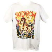 Skid Row T Shirt Heavy Metal Motley Crue Poison Graphic Band Unisex Tee