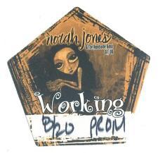 Norah Jones & The Handsome Band - 07 / 08 - Alter Konzert-Satin-Pass Working