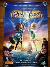 TINKERBELL and the Pirate Fairy Disney Original 2010s Adv One Sheet Movie Poster