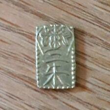 Rare Old Japan Gold Coin 2 Shu (Nishu Gin) 1860-69 Manen Era Hand Made