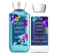 Bath & Body Works Moonlight Path Body Lotion + Shower Gel Duo Set