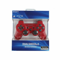 Brand NEW Sony PlayStation 3 PS3 DualShock 3 Wireless SixAxis Controller Red j