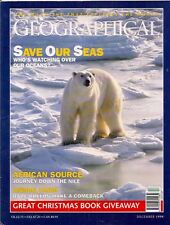 the geographical magazine-DEC 1998-SAVE OUR SEAS.