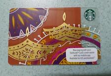 Starbucks Malaysia Card PIN INTACT DEEPAVALI 2016 very RARE Collectible Diwali