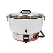 Town Food Service Equipment RiceMaster 55 Cup Commercial Natural Gas Rice Cooker