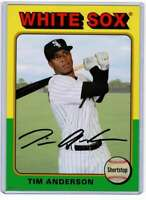 Tim Anderson 2019 Topps Archives 5x7 Gold #183 /10 White Sox