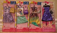 BARBIE COMPLETE LOOK FASHIONISTAS PURPLE PASSION FASHION DRESS PACKS *NEW*
