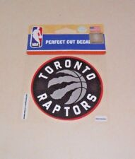 TORONTO RAPTORS 4 X 4 DIE-CUT DECAL OFFICIALLY LICENSED PRODUCT
