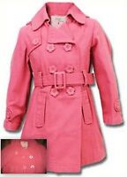 Girls ex store coral coat autumn age 3-4 5-6 7-8 9-10 11-12 years next winter