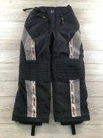 Spyder Pants Ski, Snow Black/Denim Size 10-R Medium  Insulated Vintage Youth Kid