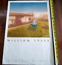 WILLIAM TYLER Impossible Truth promo poster 2014