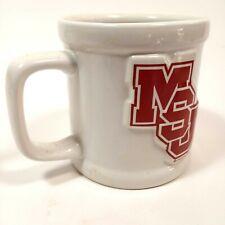 Mississippi State University 3D Bulldog Logo White Coffee Cup Bulldogs Mug
