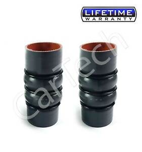 FOR FORD TRANSIT CONNECT 1.8 TDCI TDDI SILICONE INTERCOOLER TURBO HOSE PIPE PAIR