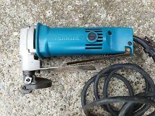 Makita JS1600 metal shear, 110v corded, steel tin work, not nibbler 1.6mm+