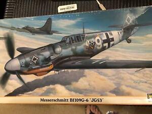 * Hasegawa Special Ed 1:48 Messerschmitt BF109G6 Ace Georg Amon 7/JG53 June 1943