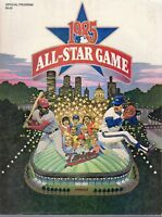 1985 MLB All Star Game, Baseball program, Minnesota Twins, Metrodome unscored~VG