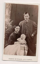 Vintage CDV King Edward VII & Queen Alexandra of Great Britain