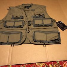 field and stream Multiple Pockets Fly fishing vest XL Olive