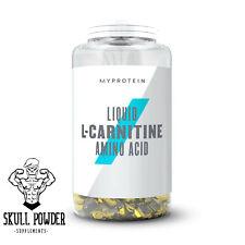 Myprotein Liquid L-Carnitine 270 Capsules - FAT BURNER, WEIGHT LOSS -