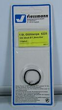 N OO HO Gauge Viessmann 6225 Spare Bulb Clear O/D 1.8 10V 30ma