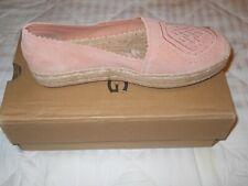 UGG Heidi Perf Flats Shoes Suntan Women's 10 NIB