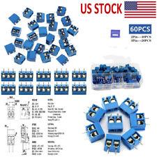 60pcs 2pin 3 Pin Screw Pcb Terminals Block Connector 5mm Pitch Screw Terminal Us