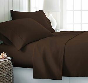 "Wrinkle Free Egyptian Cotton Comparable Softness Sheets set 18"" Deep Pocket"