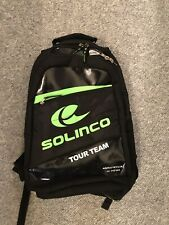 Solinco Tour Team Black/Green Tennis Backpack