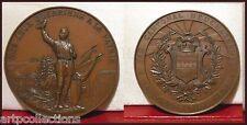 1892 Suisse Médaille Bronze Tir Fédéral Neuchatel by Huguenin Swiss Le Locle