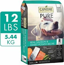 CANIDAE PURE Real Salmon & Sweet Potato, Grain Free Recipe 12 pounds dog food