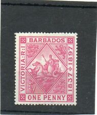 SG 118 BARBADOS MINT CAT £15.. TWO SCANS