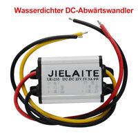 Neu 12V bis 3 / 3,3 / 3,7 / 5/6 / 9V Wasserdichtes Netzteil  DC-Abwärtswandler