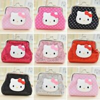 New Hello kitty Coin Purse Cartoon Cute Small Wallet for girls -FREE SHIPPING