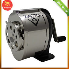 Ranger 1031 Wall Mount Manual Pencil Sharpener Silver/Black Dual helical cutters
