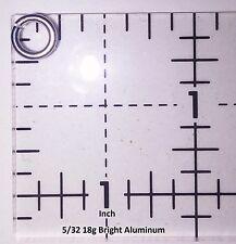 BLACK Anodized Aluminum JUMP RINGS 500 5/32 18g SAW CUT Chainmail chain mail